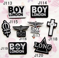 New Arrival Acrylic Harajuku Badges & Brooches Star Fans Boy London (Min order is $10 Mixed order)