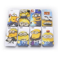 Fashion Cartoon Despicable Me Hard Case For Iphone 4 4G 4S Iphone 5 5G Cover Wholesales Free Shipping