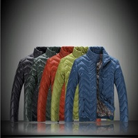 2013 New Style Stand Collar Down Coat For Men Leisure Brand Outdoor Snowboard Best Down Jackets For Men Plus Size XXXL