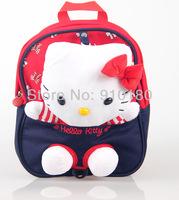 2015 New Children Toddler Kids Baby girls Cartoon hello kitty Backpack Schoolbag Shoulder Bags school bag kindergarten bookbags