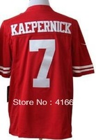 Limited Version San Francisco 7 Colin Kaepernick Jerseys Red Limited Football Jerseys Free Shipping