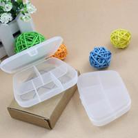 12pcs/lot storage case for medicine box Pyxides querysystem 3 e-kit portable trochaics storage box  pill timer dispenser