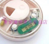 12pcs/lot storage case for medicine box E-kit remind kit timing kit old-age supplies old-age gift  pill timer dispenser