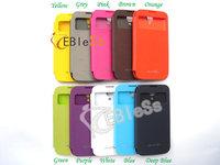 The whole sale samsung galaxy SIV s4 phone PU case Battery flip leather case back housing 5pcs/lot