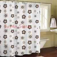 Js4529 bathroom curtain terylene cloth printed waterproof shower curtain 180*200cm 12 high quality