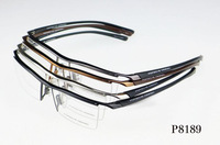 NEW ARRIVING Original Frame 2013 Designer Fashion Pure Titanium P8189 TR-90 Half Frame Men Glasses Frame Free Shipping