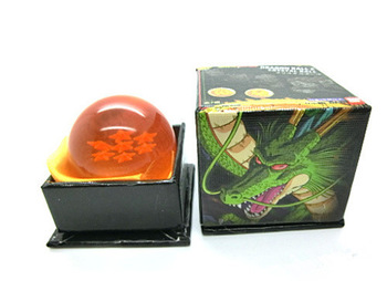 Japan Anime Dragon Ball Z Crystal Ball Four Star Dragon Ball Rubber Material
