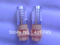 Free Shipping 3157 6W LED Car Light in Yellow