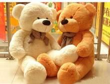 100cm genuine teddy bear, hug bear plush toys Christmas Valentine's Day gifts birthday gift toys(China (Mainland))