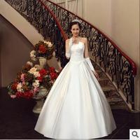 Bride tube top sexy sweet elegant wedding dress formal dress