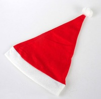 Adult Children Christmas Santa Claus Hats Fashion Nonwovens Christmas Caps Christmas Gifts Decoation Supplies 12 Pcs / Lot