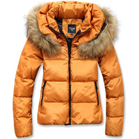 Free Shipping 2013 Winter New Wave Of Female Nagymaros Collar Short Down Jacket Thick Coat