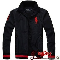 2013 Autumn POLO Brand Men Jacket Coat Long-sleeved Embroidery Breathable Paul Sports and leisure Outerwear size M-2XL