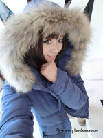 2013 bulkness casual winter cotton-padded jacket female wadded jacket