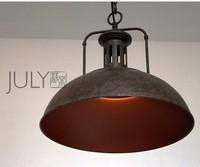 RH retro style designer lamp LOFT industrial warehouse retro chandelier chandelier miners