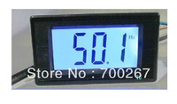 NEW AC80-300V Digital LCD Display Frequency Meter Counter from10Hz-199.9Hz  free shipping