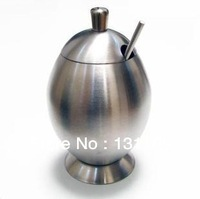 Kitchen supplies stainless steel cruet cruet salt, sugar bowl condiment box materials and tools household items kitchen utensils