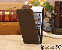 Soft Touching PU leather case for new iphone 5C flip Cover with 4 colors for wholesale, 50pcs/lot by DHL/EMS/Fedex