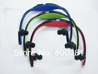 2013 Sport MP3 WMA Digital Music Player Wireless Handsfree Headset Micro SD TF Card Slot+FM radio+1XUSB Cable+Gift box