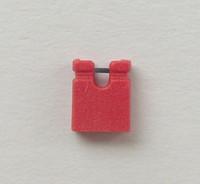 1000PCS/LOT 2.54MM red short jumper cap