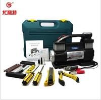 Car 2013 car air pump electronic air compressors vehienlar twin-tub bicycle tyre supplies