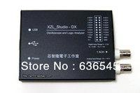 Hot in! Free shipping XZL-Studio-DX USB oscilloscope logic analyzer analyzer aluminum shell BNC probe