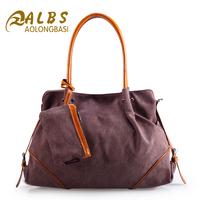 Free Shipping New Fashion Korea Style Canvas Shoulder Bag High Quality Canvas Messenger Bag