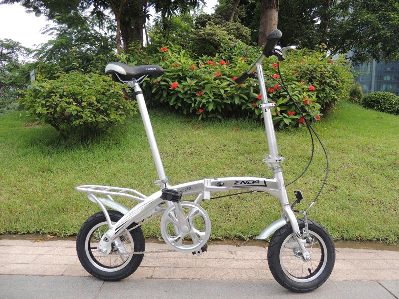 Aluminum alloy folding bicycle folding bike 12 folding bike light(China (Mainland))