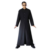 Cos clothes halloween party clothes black cybe man adult