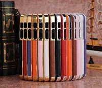 Free Shipping 10pcs With Retail Box  Ultra Slim Platinum Design Hard Case For iPhone 5 luxury Phone Cover Accessory