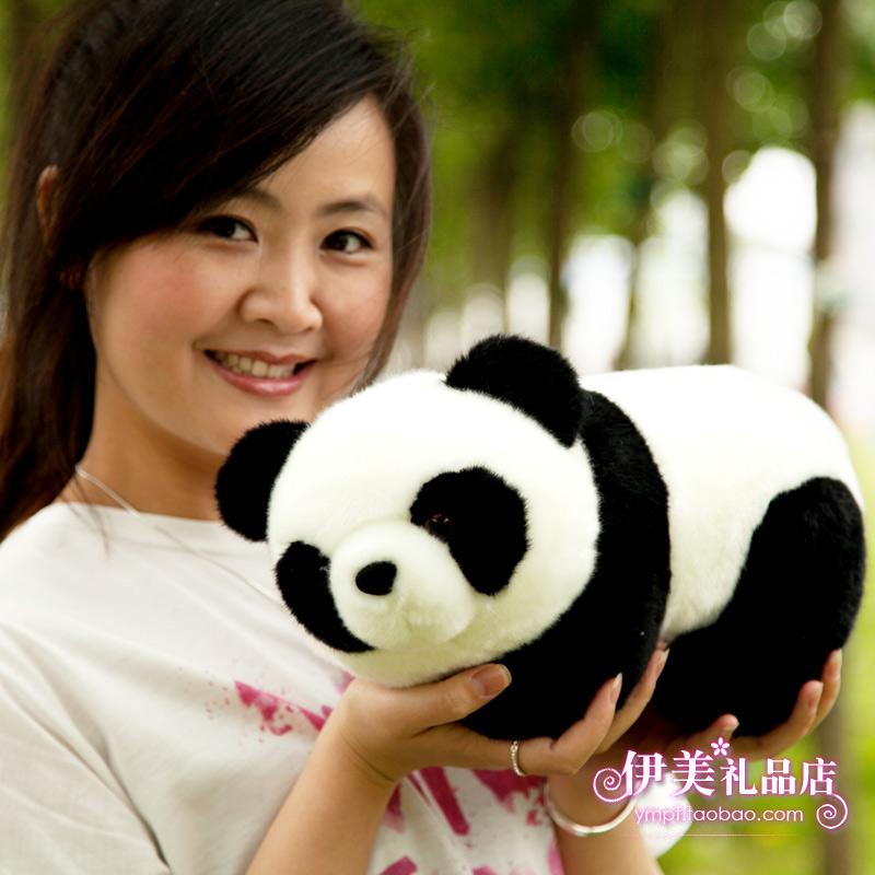 Giant panda doll plush toy Large toy bear cloth doll birthday gift(China (Mainland))