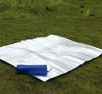 Free shipping Outdoor moisture pad picnic mat 200 * 150 double-sided aluminum foil moisture pad mats