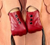 2013 New Hot Ladies genuine sheepskin quality sheepskin gloves warm gloves winter gloves SJ001