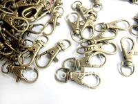 38mm Antique bronze key ring key chain hanger