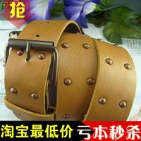 Fashion strap excellent rivet belt women's cummerbund fashion decoration belt