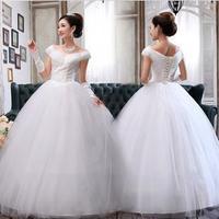 2013 fashion women dress Sweet Lovely High-quality Sexy bride wedding dress Free shipping !