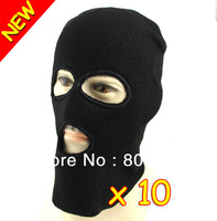 New 3 Holes Knitted Face Mask Balaclava Hat Hunting Snowboard Ski Army Stocking Winter Cap Beanie Hood