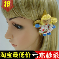 Vivi fashion decoration cartoon doll hairpin duckbill clip side-knotted clip