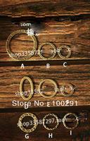 "WWEL889FREE SHIP&""circle shape ""B-I"". the various shape  jewelry findings/charms/pendants 200pcs/lot hot on sale wholesale"