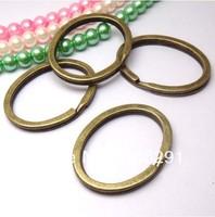 30mm antique Brass Split Key Rings 500 pcs