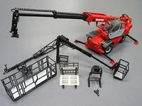 Ros manitou mrt 2150 multifunctional crane