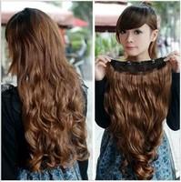 Big wave wig piece a five-piece hair clips