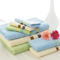 "Free Shipping High Quality 55""x27""(140x70cm) Towel 100% Cotton Bath Towel 3 Colors 340g In Stock DB-003B-1"