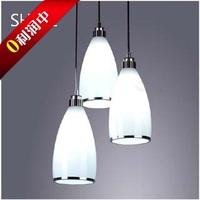 Modern Led glass pendant light  restaurant / living room lights/ bedroom pendant light