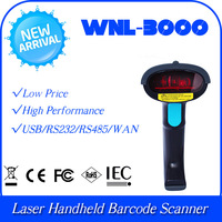 Customized WNL-3000 S10 1D Laser Handheld  code Barcode Reader Scanner Data Collector WAN Port