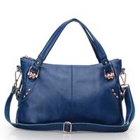 Viney women's 2013 cowhide fashion one shoulder fashion handbag new arrival women's handbag
