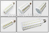 Highlight 7W E27 B22 E14 44 LED Cool White Warm White 5050 SMD Energy Saving Corn Light Lamp Bulb 110V or 220V Free Shipping