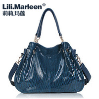 Lily women's lather-bag cross-body shoulder bag female bags large 2013 female bags women's handbag