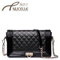 2013 women's handbag chain bag one shoulder cross-body small bags plaid bag small women's handbag