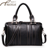2014 women's genuine leather handbag one shoulder handbag bag bossdun cross-body bag leather bag